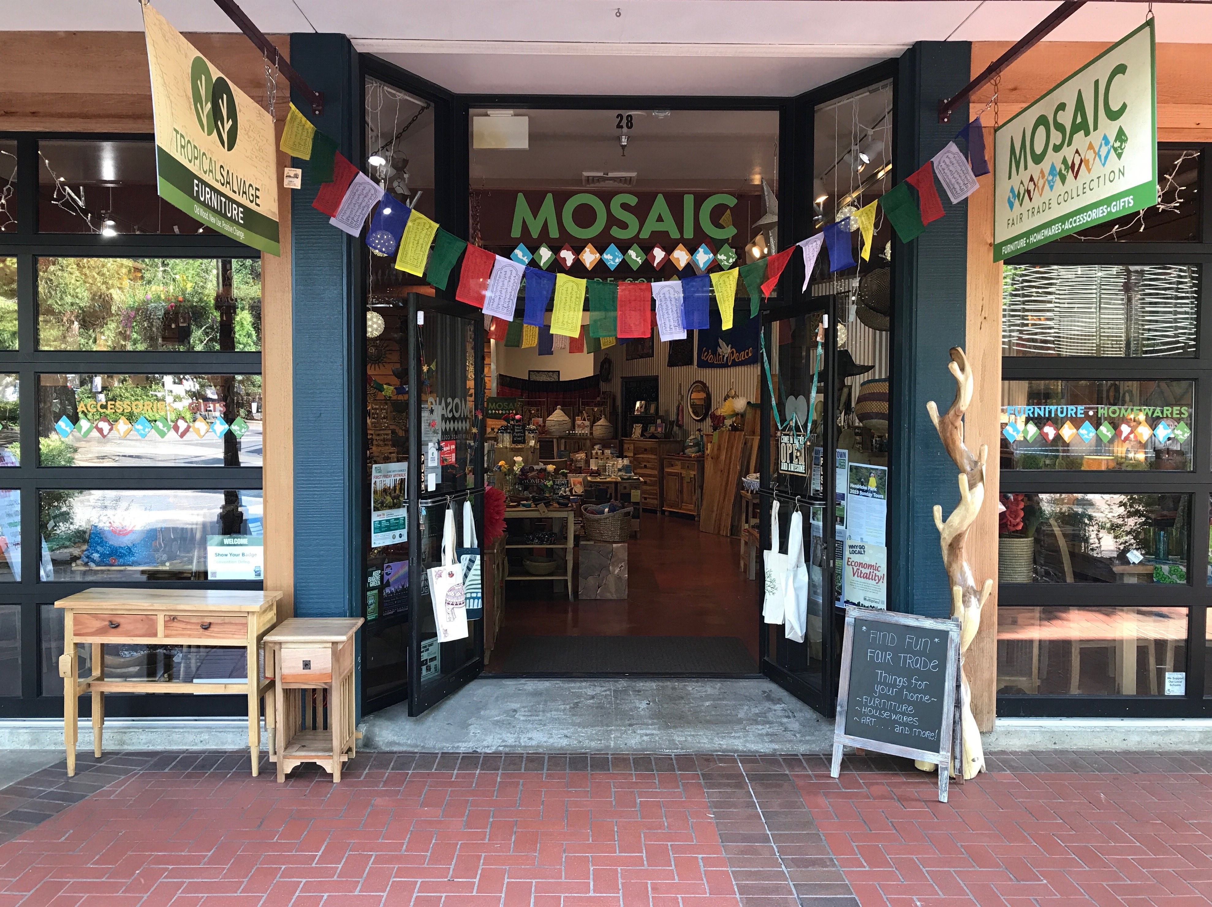Mosaic Storefront Downtown Eugene
