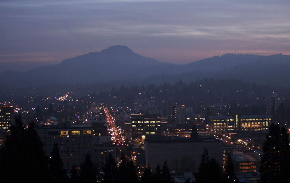 Downtown Eugene. Photo source: The Register Guard