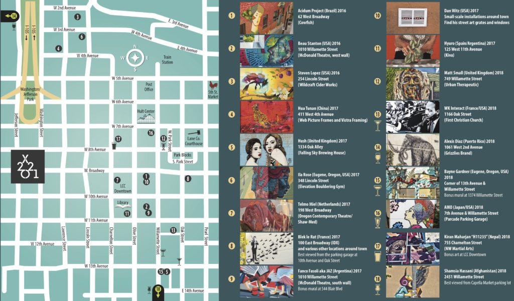 20x21 Mural & Drink Pairings Tour
